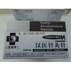 Акупунктурные иглы Hanyi 0,3мм*40мм (100 шт.)