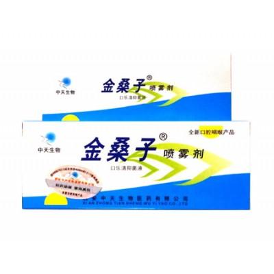 Спрей для лечения заболеваний горла и полости рта