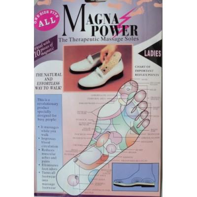 Массажные магнитные стельки Magna Power